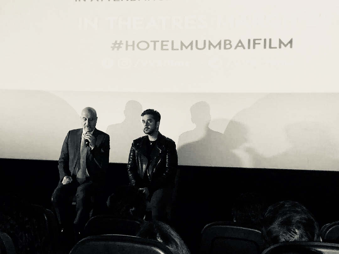 Anupam Kher connects with Toronto Fans at an exclusive screening for